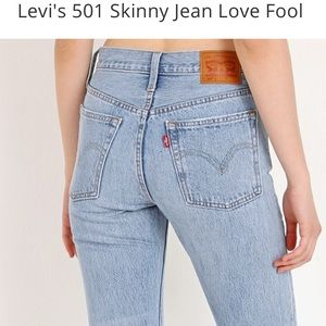 "Levi's 501 "" lovefool """